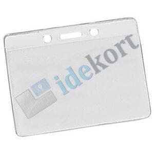 ID kortholder transparent vandret