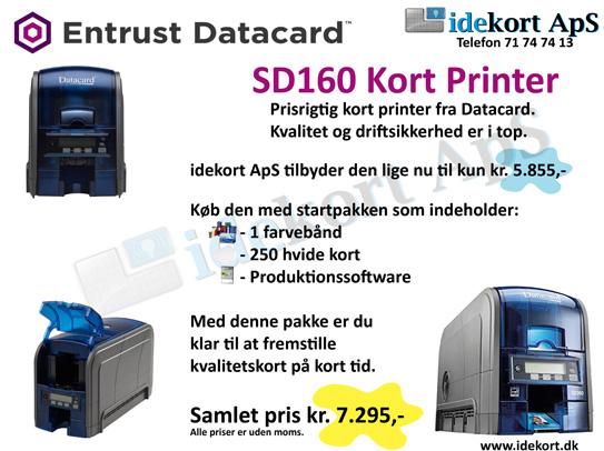 Tilbud på kort printer