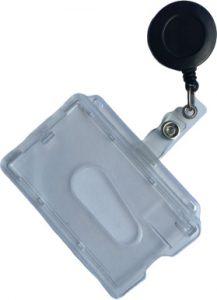 mini yoyo sort med id kortholder