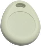 Nøglebrik - RFID tag, MiFare 1k, DRÅBE HVID