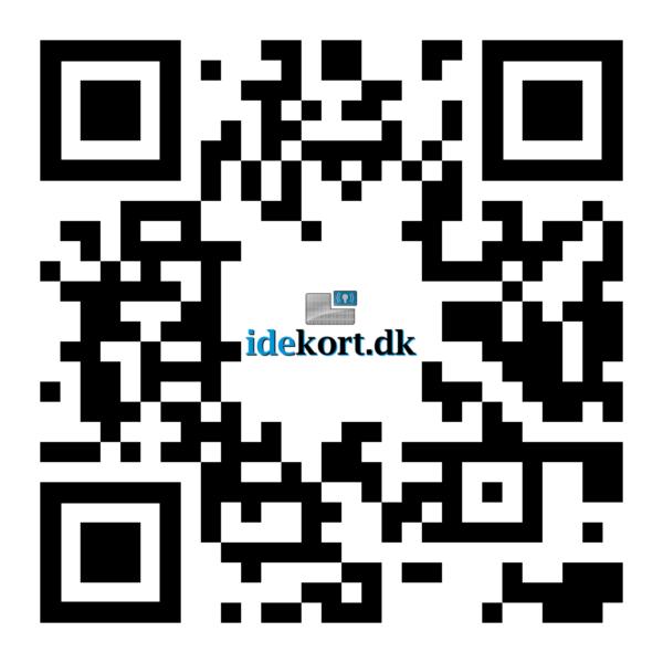 Scan QR-koden for at ringe op til idekort